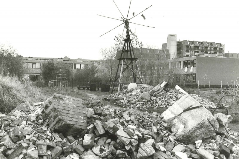 Scan Archieffoto NvhN 4 november 1982. Groningen Lewenborg Le Roy.Foto: DvhN